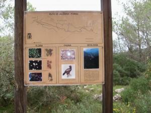 Información ruta Villalonga-Forna